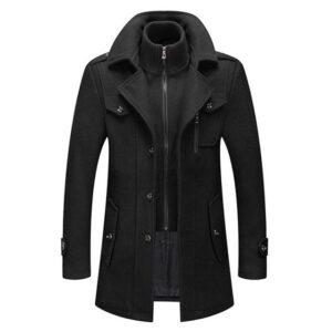 Manteau chaud en laine de luxe mode 2021-2022