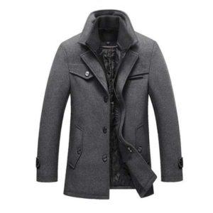 Manteau homme laine
