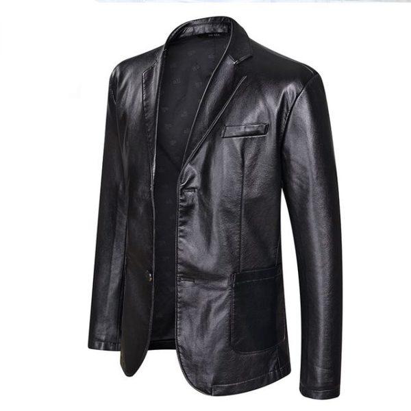 Veste en cuir style et tendance