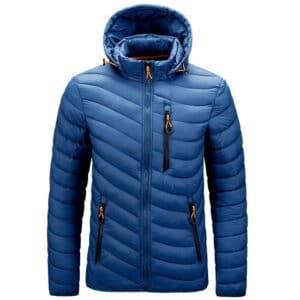 Veste hiver à capuche pas cher