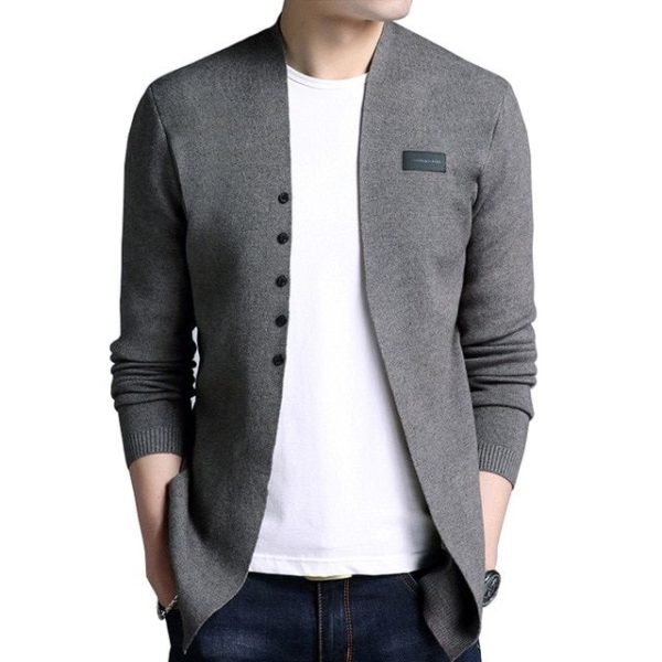 Cardigan homme mode tendance