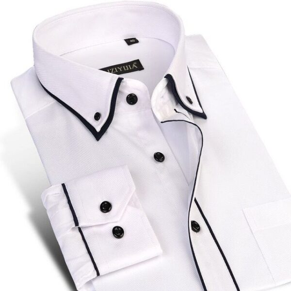 Chemise luxe manches longues