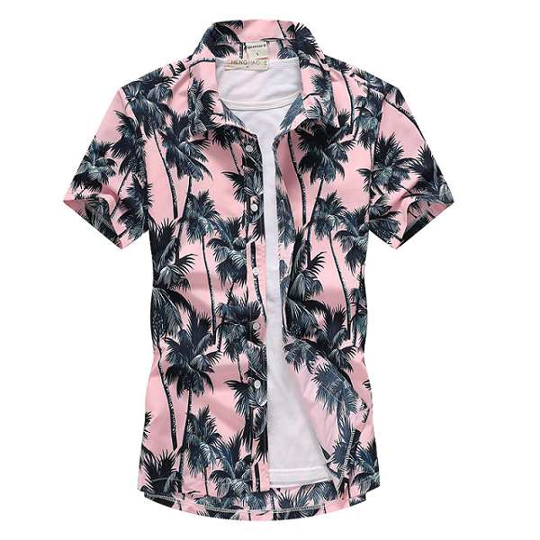 Chemise hawaienne homme mode