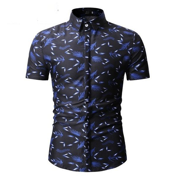Chemise manches courtes homme mode 2019