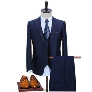 Costume homme bleu tendance