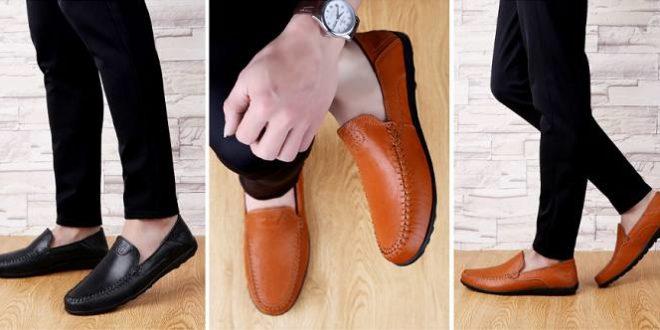 Chaussure mocassin homme : Tendances printemps 2020