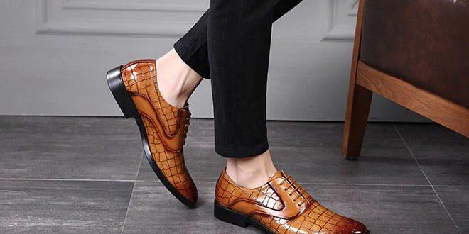 Chaussure richelieu homme 2020