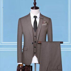 Costume d'affaires 3 pièces mode