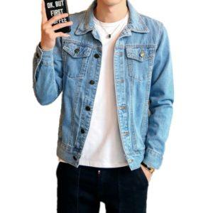 Veste en jean slim tendance
