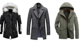 manteau d'hiver homme mode