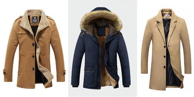 manteau chaud et long homme hiver