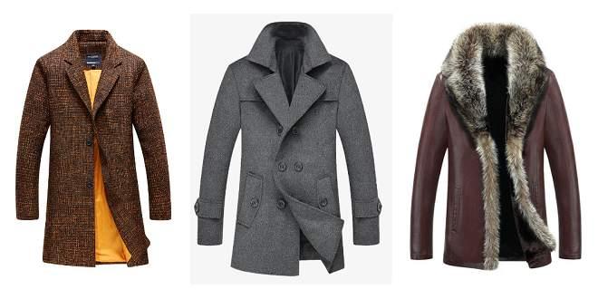 Manteau pour homme mode 2020