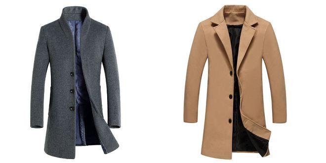 Manteau trench tendance automne-hiver pas cher