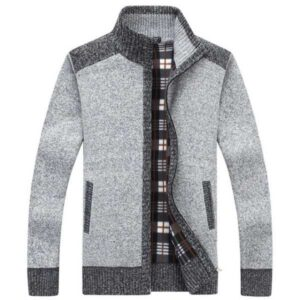 Cardigan chaud homme mode 2021