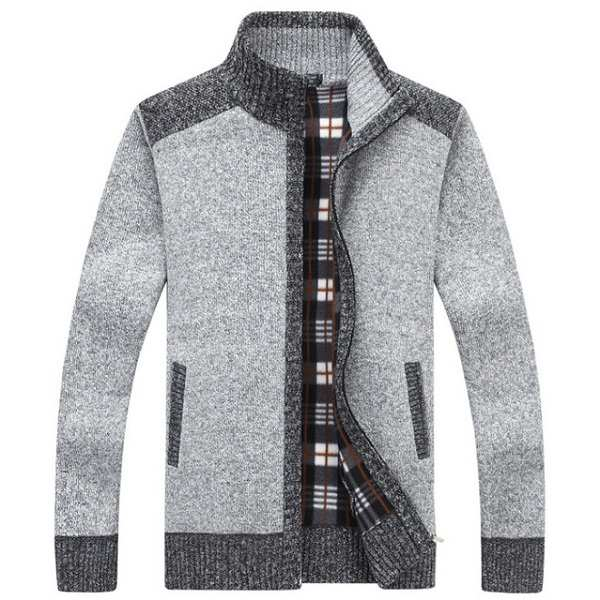 Cardigan chaud homme mode 2020