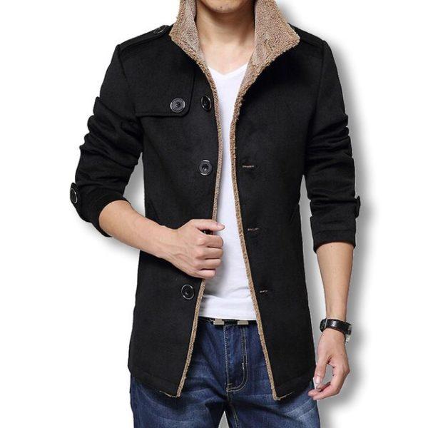 Manteau homme en laine mode