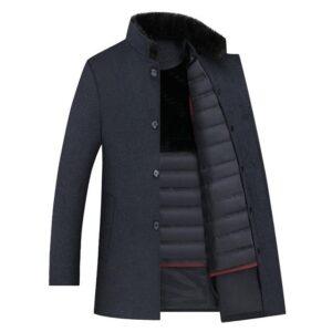 Manteau homme laine pas cher