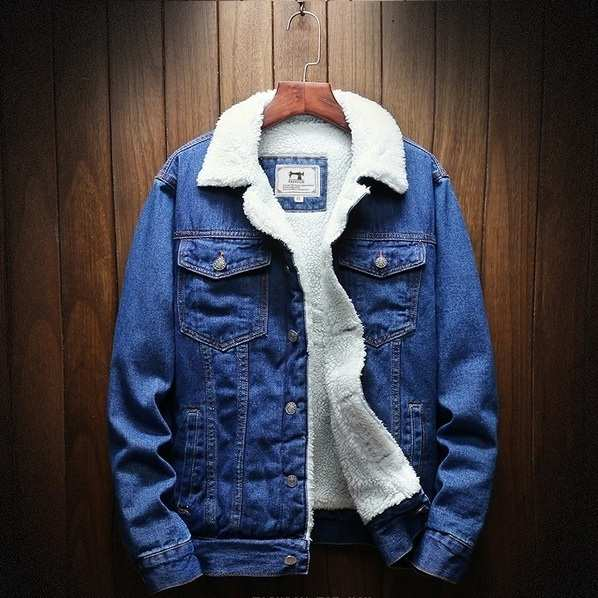 veste en jean homme hiver