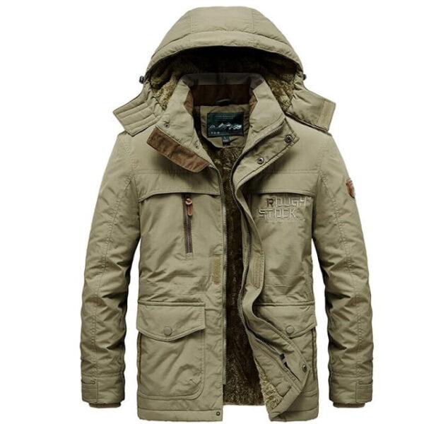 Manteau chaud hiver mode