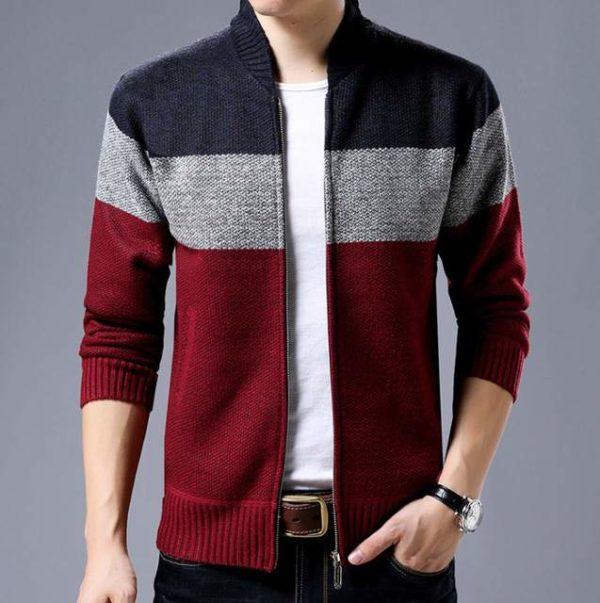 Cardigan laine homme pas cher