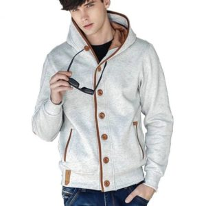 Sweat cardigan capuche tendance