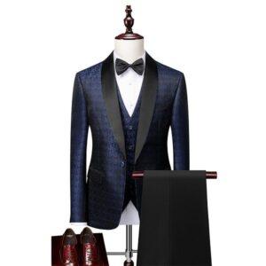 Costume homme mariage bleu tendances