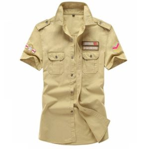 Chemise style militaire mode