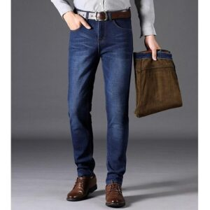 Pantalon denim homme mode