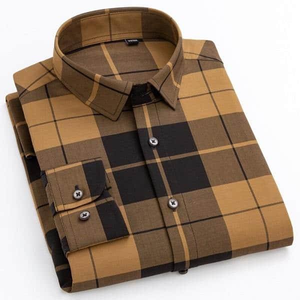 Chemise à carreaux style